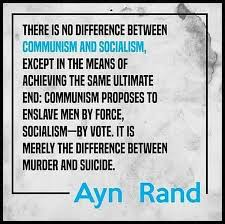 Ayn Rand Meme - brutal ayn rand meme nails the truth about socialism vs capitalism