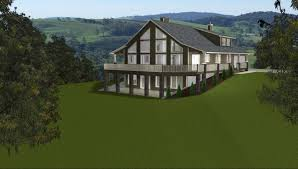 mountain house plans with walkout basement home design image fresh