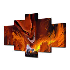 compare prices on japanese room decor online shopping buy low 5 pcs with framed printed japanese cartoon animation print room decor poster picture canvas paintings walls