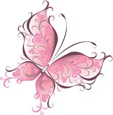 home pink butterfly brides