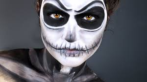 jack skellington halloween makeup tutorial the pumpkin king