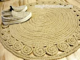 Round Straw Rug by Jute Rug Round Rugs Ideas