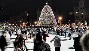 friday u0027s best bet syracuse tree lighting ceremony syracuse com