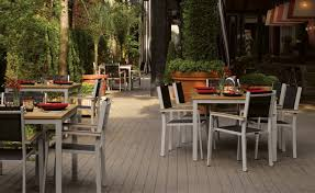 commercial outdoor furniture oxford garden intended for outdoor restaurant furniture important features of outdoor restaurant furniture