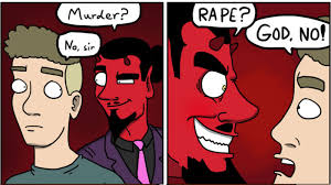 Funny Gay Guy Memes - fun new comic strip asks why gay men really go to hell pinknews