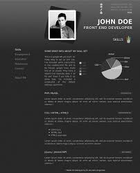 Free Html Resume Templates 10 Best Html Resume Templates For The Studio Pinterest Simple