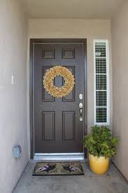 How To Paint An Exterior Door Spray Paint The Front Door No 2 Pencil