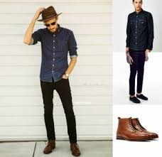 how to wear brown shoes the idle man