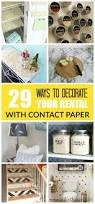 29 ways to decorate your rental with contact paper u2022 grillo designs