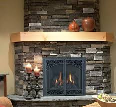 direct vent corner gas fireplace installation insert small