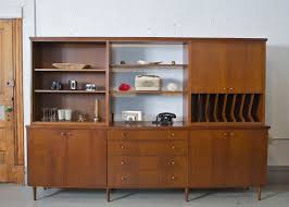 Modern Wall Unit by Mid Century Modern Wall Unit Desk Hutch China Cabinet