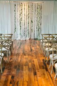 wedding backdrop garland central illinois wedding