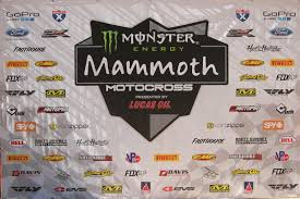 lucas oil pro motocross live stream monster energy mammoth motocross presented by lucas oil saturday
