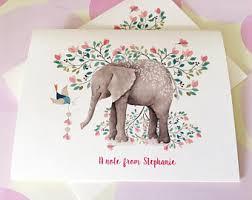 elephant cards etsy