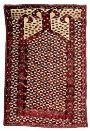 lot 72 a beshir prayer rug middle amu darya region circa 1800