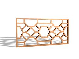 wood lattice wall decorative wood lattice panels 3d model 3ds max files free