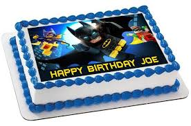 batman cake toppers the lego batman 2 edible cake topper cupcake toppers