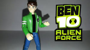 review do boneco ben tennyson ben 10 alien force youtube