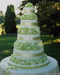 marriage cake green wedding cakes martha stewart weddings