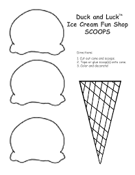 interesting ideas ice cream cone coloring page free printable