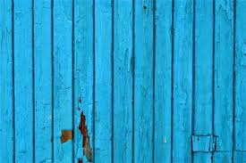 monochronology blue painted wood plank texture