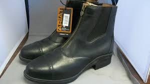 mens black motorcycle boots ariat men cobalt vx devon pro riding boots black freeman