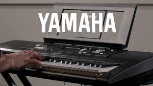 yamaha keyboard lighted keys yamaha ez220 61 key lighting keyboard sound demonstration youtube
