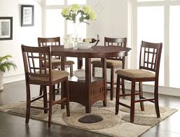 Counter Height Dining Room Set by Randolph Counter Height Table With 4 Chairs Furniture
