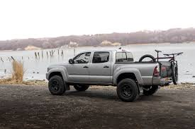 toyota truck lifted rotiform six off road rims on lifted toyota tacoma truck u2014 carid