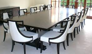 white dining room buffet glass dining table dining chair seat