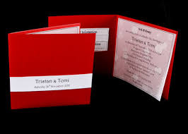 Red Wedding Invitations Red Wedding Invitations Events On Paper