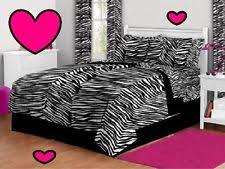 Zebra Print Bedroom Sets Zebra Print Bed Set Ebay