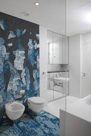 recycled glass tiles offer a dual exploration of beauty in the