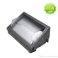 Exterior Led Flood Light Bulbs by Outdoor Led Wall Pack Light 100w Industrial Wall Mount Led