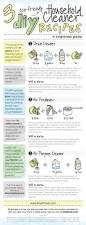 spring cleaning tips and tricks infographic make eco friendly cleaning products spring and recipes