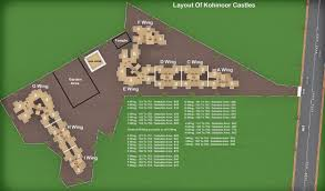 Castle Green Floor Plan by Kohinoor Castle In Ambernath New Projects By Kohinoor
