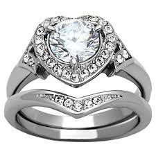 engagement rings for women his u0026 hers 3 pcs wedding engagement ring set titanium matching