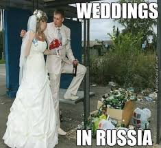 Russian Girl Meme - 25 funniest wedding meme pictures and images