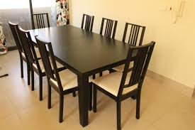 Ikea Extendable Table by Ikea Extendable Table 8 To 10 Seats 202 Cm 105 Cm With 8