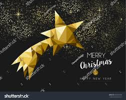 merry christmas happy new year fancy stock vector 332582168