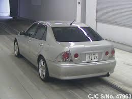 toyota lexus altezza for sale 2001 toyota altezza silver for sale stock no 47963 japanese