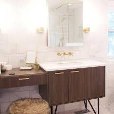 Modern Walnut Bathroom Vanity by Walnut Bath Vanity Design Ideas