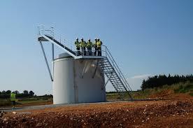 Pedestal Foundation Activites Fondasolutions Foundations For Windturbines