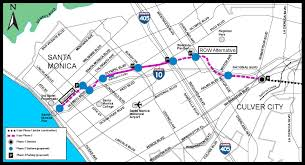 Santa Monica Map Expo Line Releases Final Environmental Report For Phase 2 From