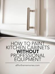 Professionally Painted Kitchen Cabinets by How To Paint Kitchen Cabinets