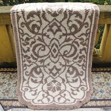 Damask Bath Rug The St Home Fashion Collection Graccioza Damask Bath Rug