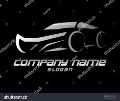 car logo black and white car logo on black background stock vector 594365864 shutterstock