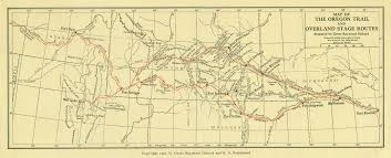 Oregon Trail Maps the west that is wyoming the hebard historic map collection