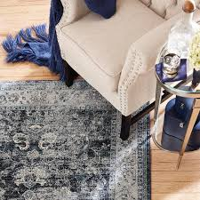 Home Dynamix Vinyl Floor Tiles by Home Dynamix Area Rugs Denim Rug 1201 300 Navy Blue Denim Rugs