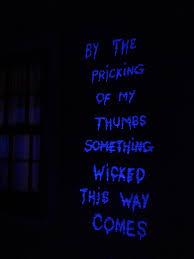 Halloween Outside Lights by Tide Blacklight Macbeth U003d My Favorite Outdoor Halloween